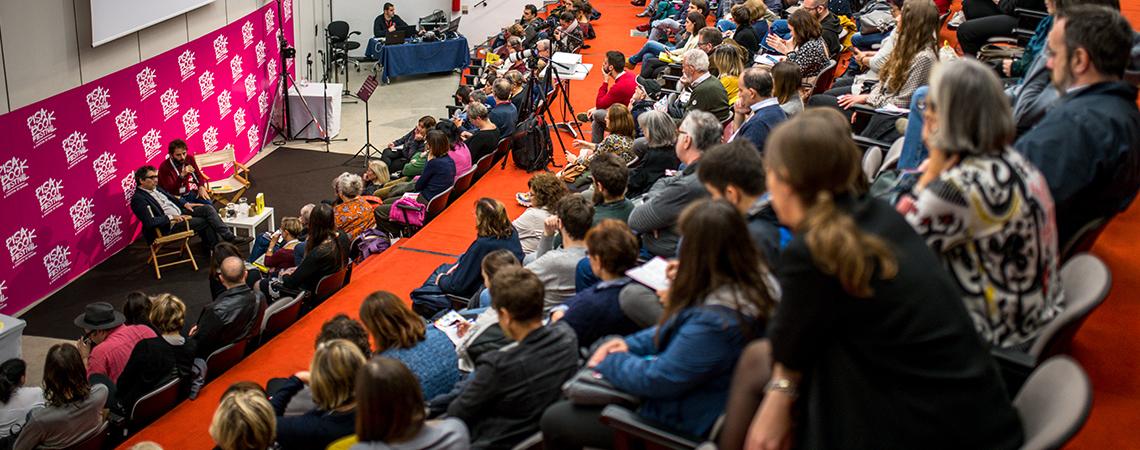 Un festival di scrittori con ospiti nazionali e internazionali